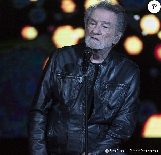 Eddy Mitchell - La Nuit de la Déprime revient aux Folies Bergère, le 3 février 2020. © Pierre Perusseau / Bestimage