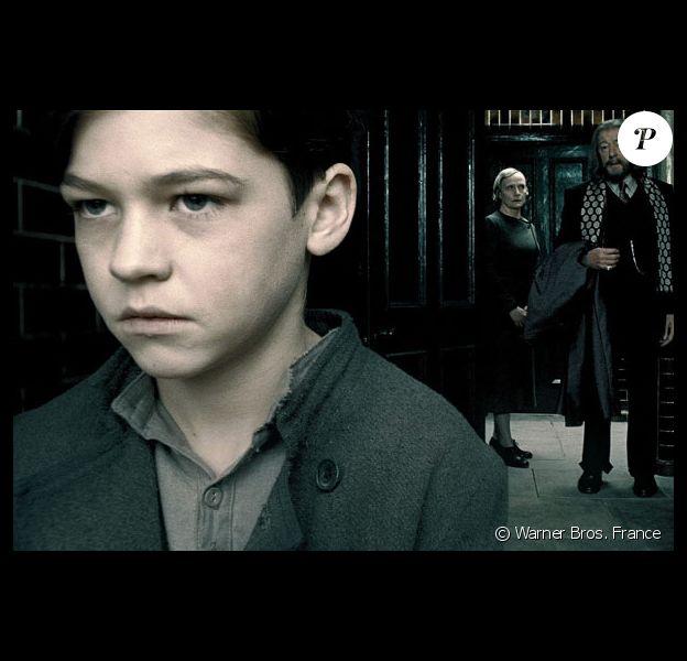 """Hero Fiennes-Tiffin dans le film """"Harry Potter et le Prince de sang mêlé"""". 2009."""