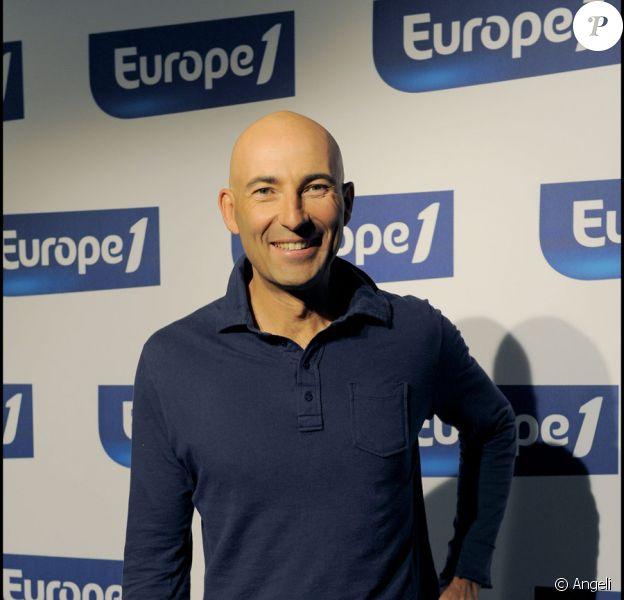 Nicolas Canteloup le 31/08/09 lors de la conférence de rentrée d'Europe 1