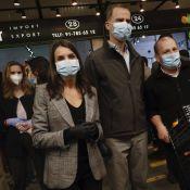 Letizia et Felipe d'Espagne en plein marché, premier bain de foule en pandémie