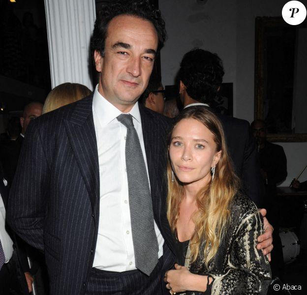 Mary-Kate Olsen et Olivier Sarkozy à New York en 2015.