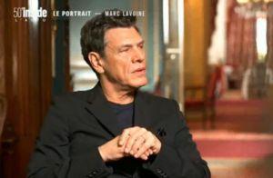 """Marc Lavoine parle tendrement de Line Papin, """"la femme de ma vie"""""""