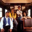 John Deacon, Freddie Mercury, Roger Taylor et Brian May - Les membres du groupe Queen à Londres. © Photoshot/PCN/ABACAPRESS.COM