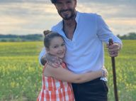 David Beckham : Tendre photo avec sa fille Harper, en balade à la campagne