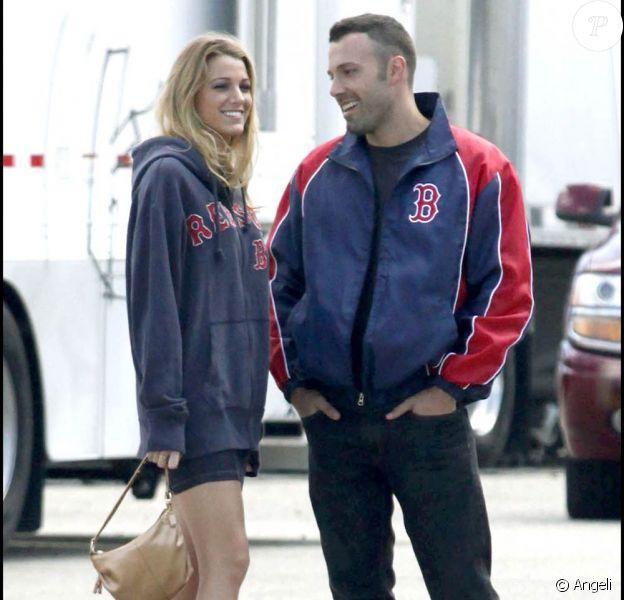 Blake Lively et Ben Affleck sur le tournage de The Town, à Boston, le 1er septembre 2009 !