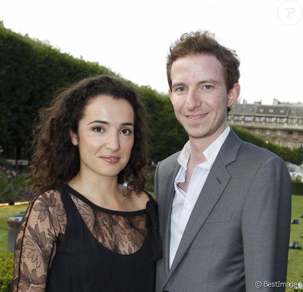 Ludovic Watine Arnault et Isabelle Vitari en 2012. Présentation de la collection Berluti, prêt-à-porter hommes, printemps-été 2013, à Paris.