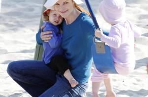 Marcia Cross : pause tendresse avec ses filles, trois beautés... sous le soleil !