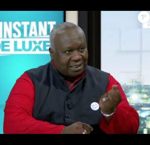 """Magloire ému  aux larmes sur le plateau de """"L'instant de luxe"""", le 4 juin 2020"""