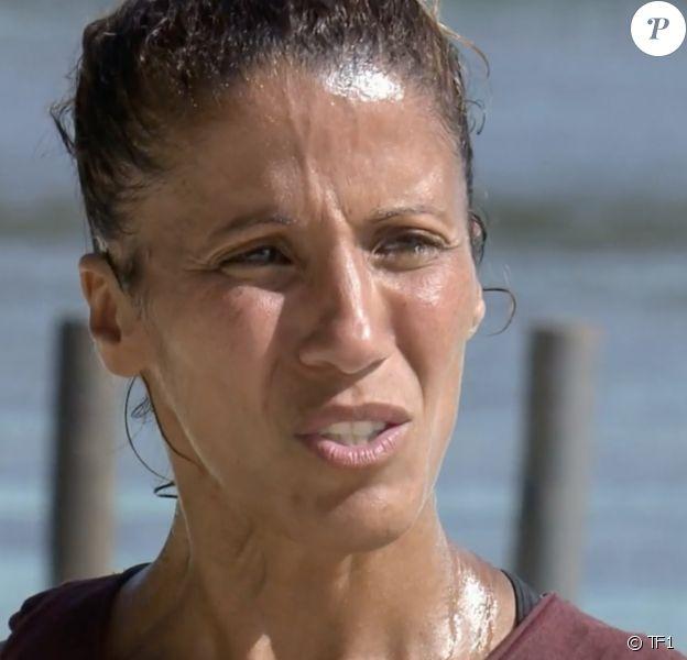 """Naoil lors de l'épreuve des poteaux durant la finale de """"Koh-Lanta, l'île des héros"""" (TF1) vendredi 5 juin 2020."""