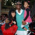 Kobe Bryant avec sa femme Vanessa et leurs filles Natalia et Gianna