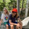 Elsa Hosk et son petit ami Tom Daly. Mai 2020.