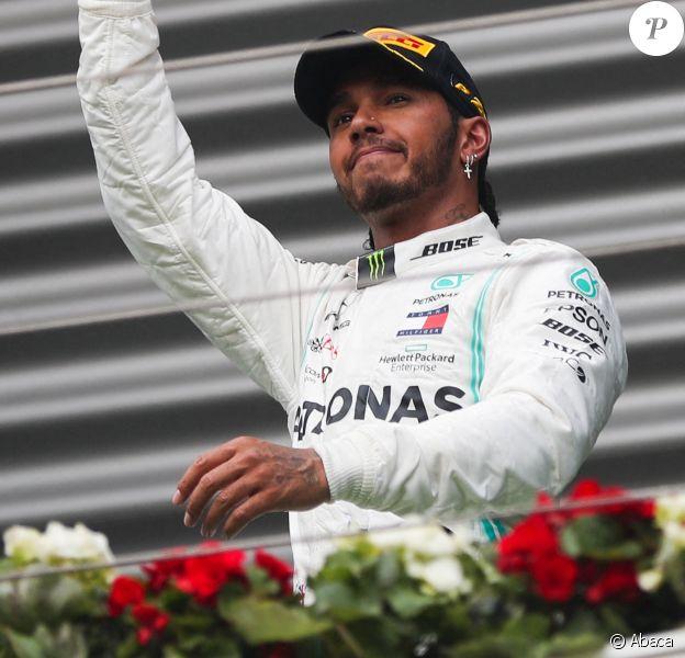 Lewis Hamilton au Grand Prix de Belgique le 1er septembre 2019.