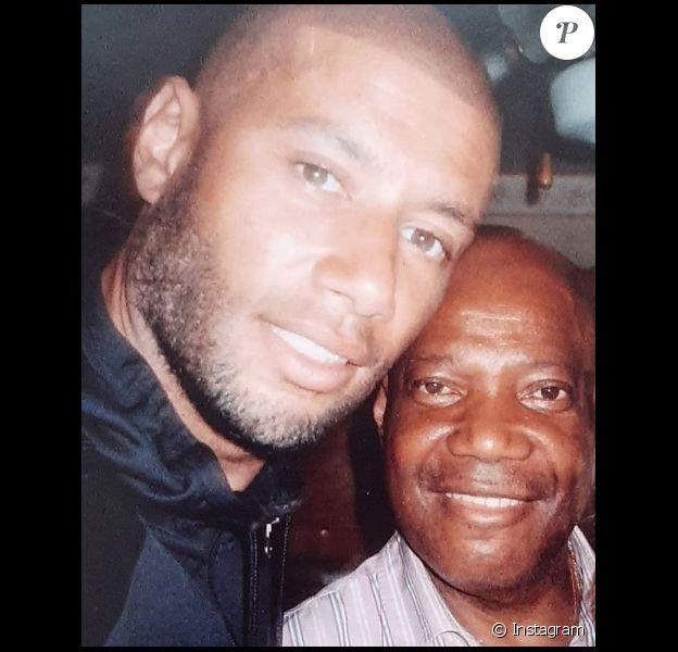 Xavier Delarue et son père. Son père est mort du Covid-19 dans son Ephad en avril 2020.