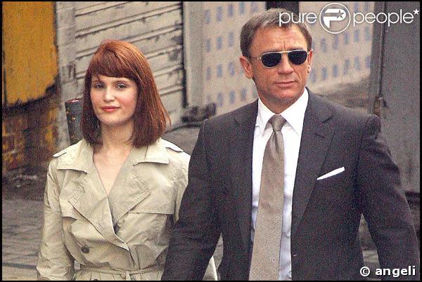 Photo du tournage,James Bond Quantum of Solace