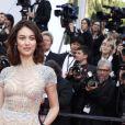 """Olga Kurylenko - Montée des marches du film """"The Meyerowitz Stories"""" lors du 70ème Festival International du Film de Cannes. Le 21 mai 2017. © Borde-Jacovides-Moreau/Bestimage"""