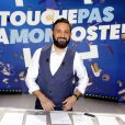 """Exclusif - Cyril Hanouna sur le plateau de l'émission TV """"Touche Pas à Mon Poste (TPMP)"""" à Boulogne-Billancourt. Le 3 mai 2018"""