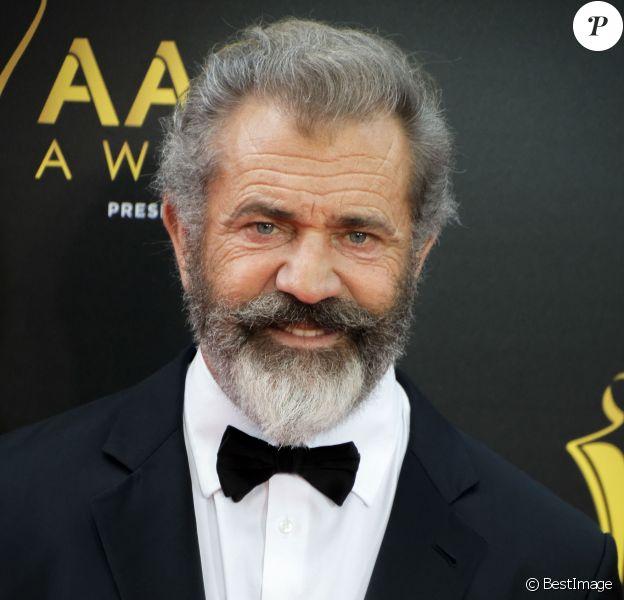 Mel Gibson lors de la 6e cérémonie des ''AACTA Awards'' à Sydney, le 7 décembre 2016. © Hugh Peterswald/Pacific Press via ZUMA Wire/Bestimage
