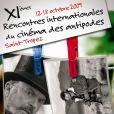 L'affiche des 11e rencontres du cinéma des antipodes !