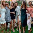 """Laury Thilleman, Maéva Coucke, Alicia Aylies, Marine Lorphelin et Clémence Botino (Miss France 2020) se sont retrouvées """"Chez Mila"""", à Paris le 25 juin 2020 pour un anniversaire."""