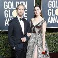 Adam Shulman et sa femme Anne Hathaway - Photocall de la 76e cérémonie annuelle des Golden Globe Awards au Beverly Hilton Hotel à Los Angeles, le 6 janvier 2019.