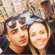 """Anaïs de """"Secret Story 10"""" et Benjamin en couple, à Venise, sur Instagram, décembre 2016"""