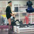 """Lindsay Lohan en mode shopping à New York le 08/09/09"""