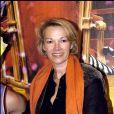 Brigitte Lahaie - Soirée spéciale Cirque Arlette Gruss en l'honneur de l'association Laurette Fugain. Paris. Le 8 décembre 2006.