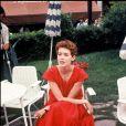 Archives - Sylvia Kristel au Festival de Cannes. Mai 1977.
