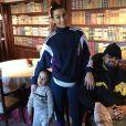 Le rappeur Alonzo et sa femme Samantha complices sur Instagram.