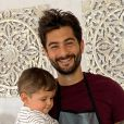 Benoît Assadi et son fils Juliann, le 14 juin 2020, sur Instagram