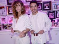 Samy Seghir et sa fiancée, Brahim Asloum et sa femme... pour une soirée blanche