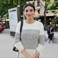 """Exclusif - Camelia Jordana à son arrivée à la première du film """"La nuit venue"""" aux Halles à Paris. Le 2 juillet 2020"""