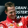 Michael Schumacher au Grand Prix of San Marin sur le circuit d'Imola, le 23 avril 2006