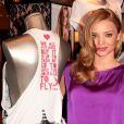Miranda Kerr en séance de dédicaces à la boutique Victoria's Secret de New York le 10/10/10