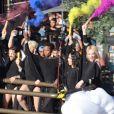 Mel C (Melanie Chisholm) participe à la GayPride de Sao Paulo au Brésil, le 23 juin 2019.