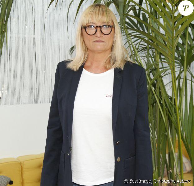 Christine Bravo - Photocall de la conférence de rentrée du pôle Tv de NRJ Group à la brasserie Polpo à Levallois Perret. Le 28 juin 2017 Christophe Aubert via Bestimage