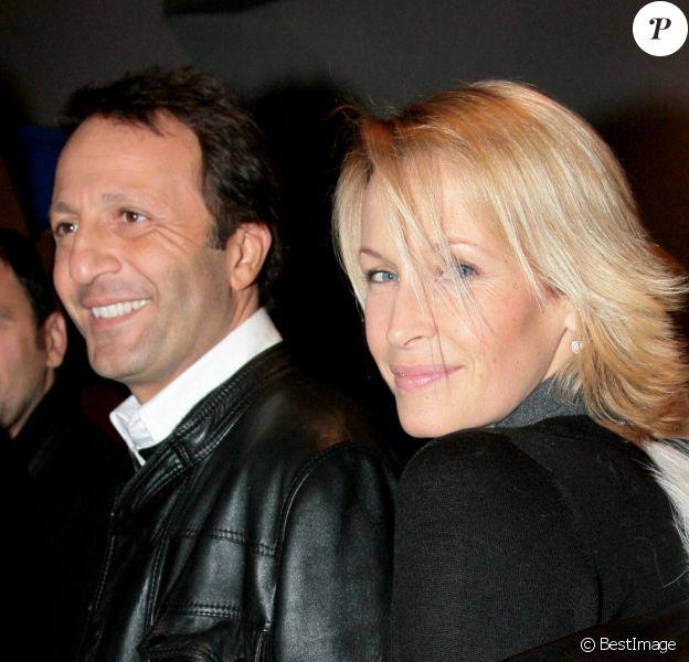 """Arthur et Estelle Lefébure - Avant-première du film """"Bienvenue chez les ch'tis"""" au cinéma UGC Cité de Lille. Le 18 février 2008."""