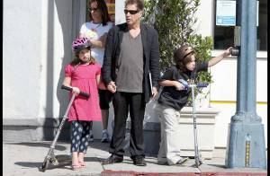 Al Pacino : un papa au look pas terrible du tout... mais tellement attentionné avec ses jumeaux !