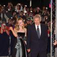 Harrison Ford et Calista Flockhart en amoureux sur le tapis rouge de Deauville, l'émotion d'Harrison...