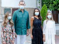 Letizia d'Espagne : Grand retour de sa robe Sandro en Navarre, sans ses filles