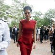 Victoria Beckham dans l'une de ses robes