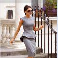 Victoria Beckham dans une de ses robes collection 2009