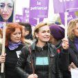 Eva Darlan - De nombreuses artistes et personnalités marchent contre les violences sexistes et sexuelles (marche organisée par le collectif NousToutes) de place de l'Opéra jusqu'à la place de la Nation à Paris le 23 Novembre 2019 © Coadic Guirec / Bestimage