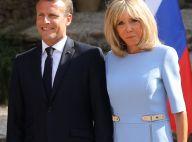 Brigitte et Emmanuel Macron au fort de Brégançon, adapté pour les petits-enfants
