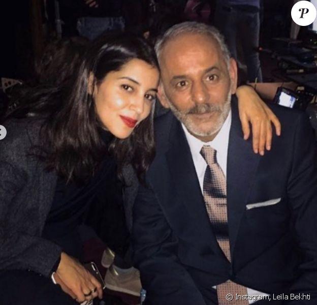 Leïla Bekhti rend hommage à Djemel Barek. Photo publiée le 1er août 2020.