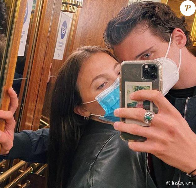 Noé Elmaleh et sa compagne Johanna, photo Instagram du 2 juin 2020.