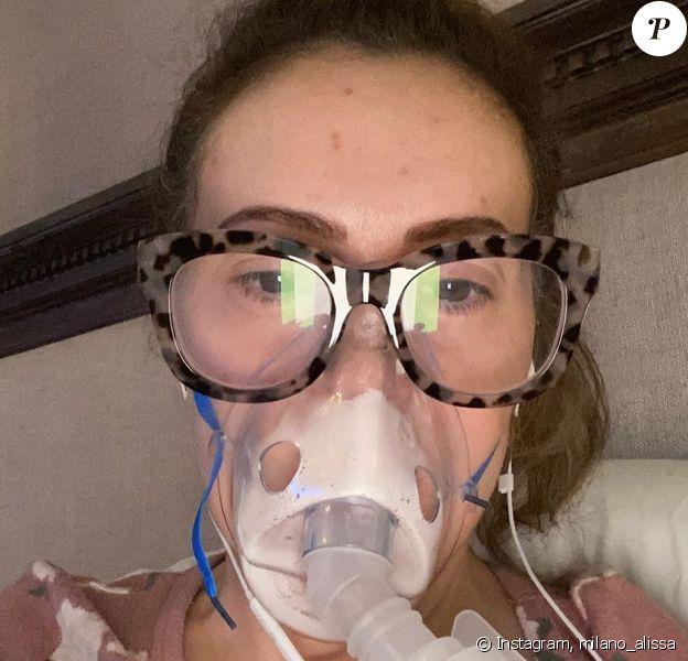 Alyssa Milano a partagé cette photo d'elle sur Instagram, le 5 août 2020