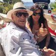 Jean-Paul Belmondo avec Carlos Sotto Mayor. Photo publiée sur Instagram le 8 août 2020.