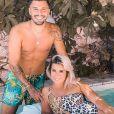 Carla Moreau et Kevin Guedj en maillot de bain, le 23 juillet 2020, sur Instagram