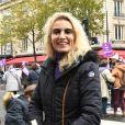 Alexandra Lamy - De nombreuses artistes et personnalités marchent contre les violences sexistes et sexuelles (marche organisée par le collectif NousToutes) de place de l'Opéra jusqu'à la place de la Nation à Paris le 23 Novembre 2019 © Coadic Guirec / Bestimage
